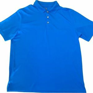Grand Slam Blue Golf Polo Shirt Short Sleeve XL